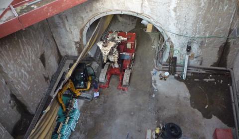 Metro Roma Linea C - Stazione Giglioli - Torre Maura