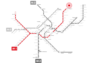 Metro Milano LINE M1