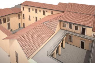 BIM modeling for Monastery of St. Catherine